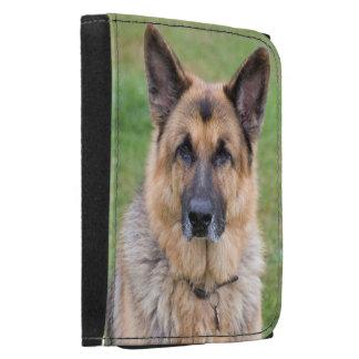 Tysk herdehund, härligt foto, plånbok