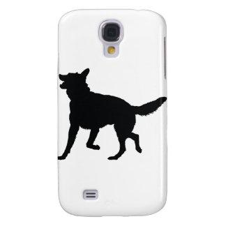 Tysk herdeSilhouette Galaxy S4 Fodral