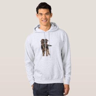 Tysk herdevalpteckning hoodie