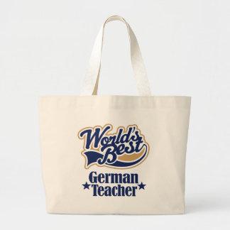 Tysk läraregåva för (bäst världar) tygkassar