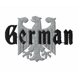 Tysk örn broderad Poloskjorta Polo Tröja