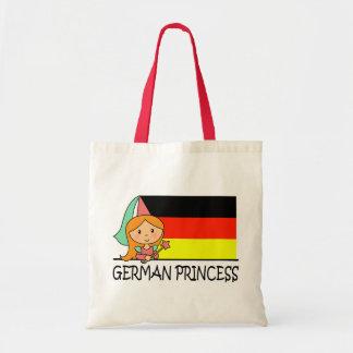 Tysk Princess Hänga lös Budget Tygkasse