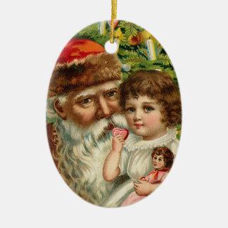 Tysk Santa julprydnad Julgransdekorationer