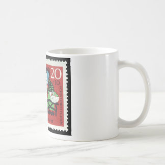 Tysk snövit kaffemugg