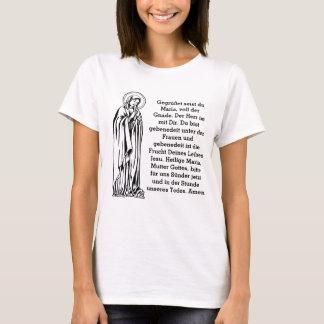 Tyska hagelMary kvinna utslagsplats T-shirt