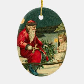Tyska Santa julprydnadar Juldekoration