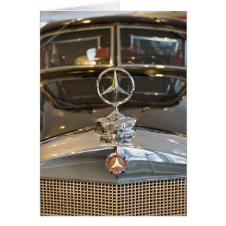 Tyskland Baden-Wurttemberg, Stuttgart. Mercedes Hälsningskort