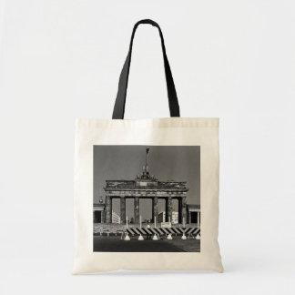 Tyskland Berlin Brandenburg för vintage grind 1970 Budget Tygkasse
