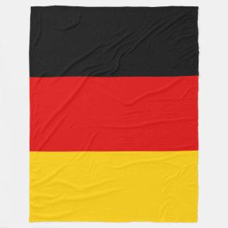 Tyskland Deutschland flagga Fleecefilt