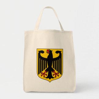 tyskland emblem mat tygkasse
