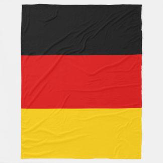 Tyskland flagga fleecefilt