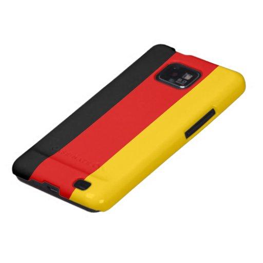 Tyskland flagga galaxy SII skydd