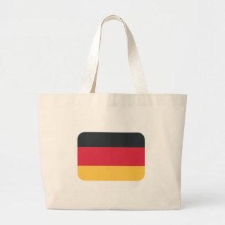 Tyskland flagga genom att använda Twitteremoji Jumbo Tygkasse