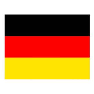 Tyskland flagga vykort
