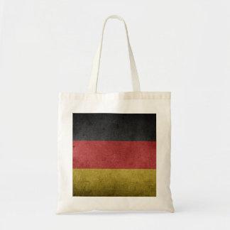 Tyskland flaggaGrunge Budget Tygkasse