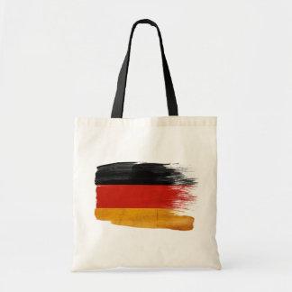 Tyskland flaggakanfas hänger lös tote bags