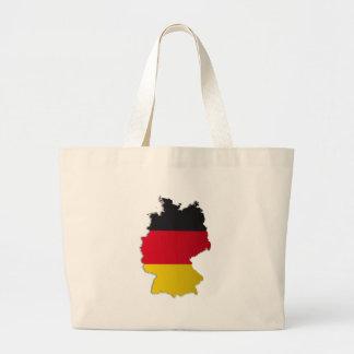 Tyskland flaggakarta tygkasse