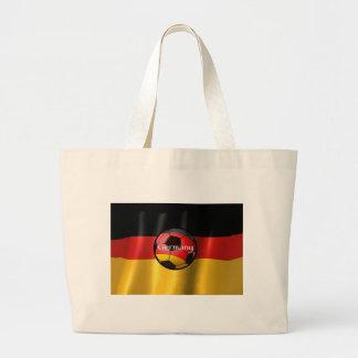 Tyskland fotboll jumbo tygkasse