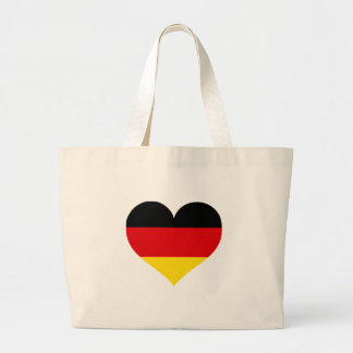 Tyskland kärlek jumbo tygkasse