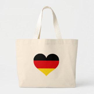 Tyskland kärlek tote bag