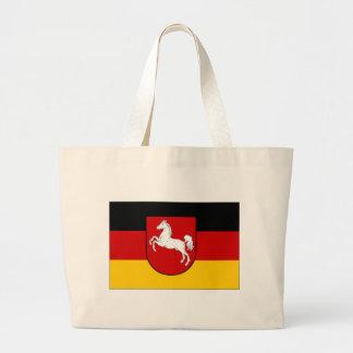 Tyskland lägre Sachsen borgerlig flagga Kassar