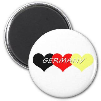 Tyskland Magnet Rund 5.7 Cm