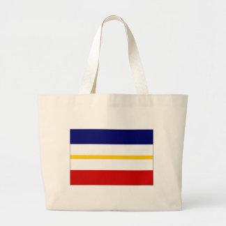 Tyskland Mecklenburg flagga Tote Bag
