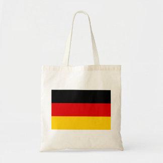 Tyskland medborgarevärldsflagga budget tygkasse