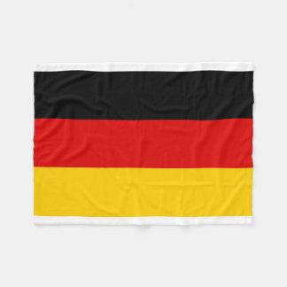 Tyskland medborgarevärldsflagga fleecefilt