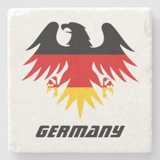Tyskland örnvapensköld underlägg sten