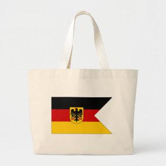 Tyskland sjö- Ensign Jumbo Tygkasse