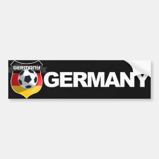 Tyskland tysk lagbildekal bildekal