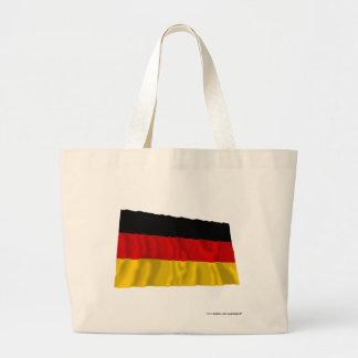 Tyskland vinka flagga kasse