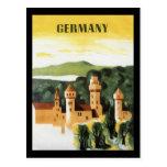 Tyskland Vykort