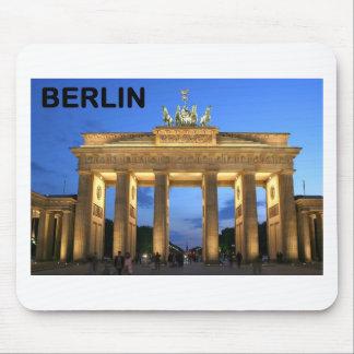Tysklanda Berlin Brandenburger Torabends Musmatta