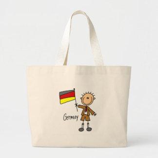 Tysklandet hänger lös jumbo tygkasse