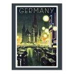 Tysklandet reser annonsen (Berlin) Vykort
