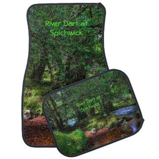 Tyst flödar floden - den Dartmoor nationalparken Bilmatta