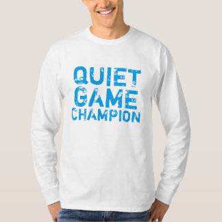 Tyst modig mästare tee shirt
