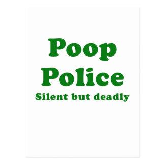 Tyst Pooppolis men dödligt Vykort