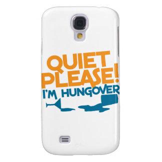 Tystnaden behar… den bakfulla I-förmiddagen Galaxy S4 Fodral