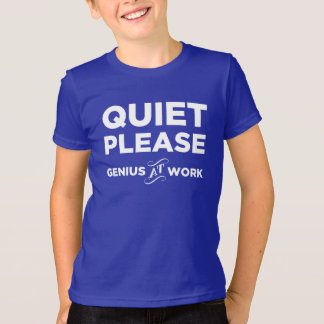 Tystnaden behar snille på arbete tröja
