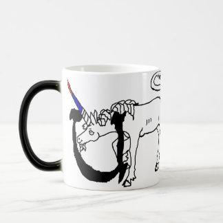 U är för Unicorn Magisk Mugg