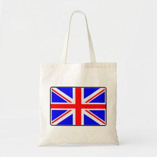 U.K. Flagga Budget Tygkasse