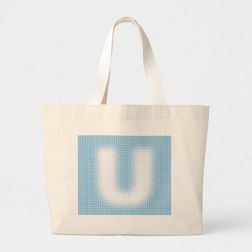 U-Monogram Tygkassar
