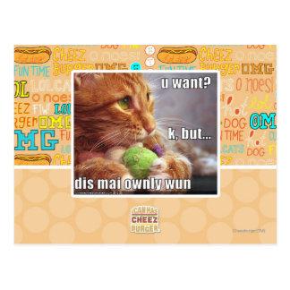 U önskar? vykort