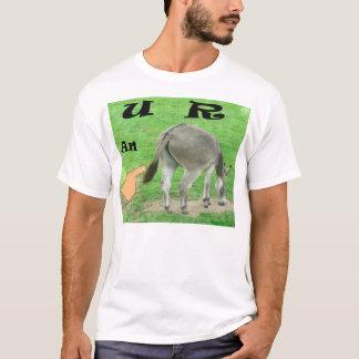 U R en rolig T-tröja för åsna T Shirts