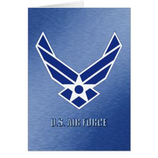 U.S.A.F.-hälsningkort Hälsningskort