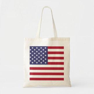 U.S.A. Flagga Tote Bags
