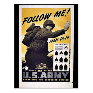 U.S. Armé Vykort